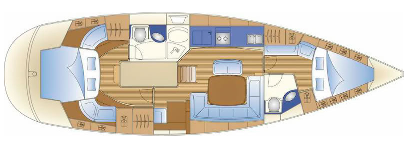 План яхты