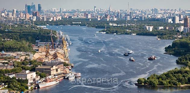 Аренда яхты в черте города